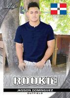 JASSON DOMINGUEZ 2019 Leaf 10 count lot Exclusive Rookies NY Yankees gem mint