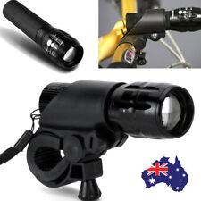 LED Bike Bicycle Light 2000 Lumens 3 Mode CREE Torch Headlight Adjustable Grip