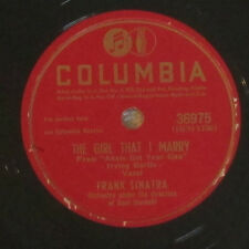 78 RPM record Frank Sinatra  - They Say It's Wonderful / The Girl That I Marry