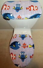 Disney Finding Nemo Dory Fish Toilet Seat Cover Set Bathroom Accessories
