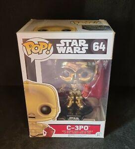 FUNKO POP! - C 3PO # 64 - STAR WARS THE FORCE AWAKENS - NEW IN BOX