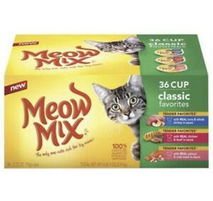 Meow Mix Variety Pack 36 Count