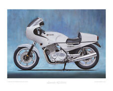 Laverda RGS1000 - Limited Edition Collectors Art Print by Steve Dunn