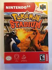 Pokemon Stadium - Nintendo 64 - Replacement Case - No Game