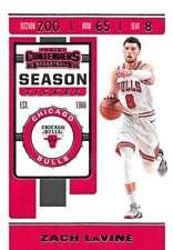 Zach LaVine 2019-20 Panini Contenders Season Ticket #100 Bulls