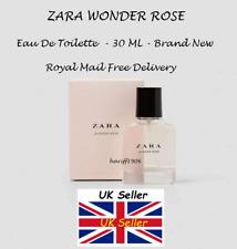 🌺 ZARA WOMAN WONDER ROSE EAU DE TOILETTE FRAGRANCE PERFUME 30ML/NEW & SEALED 🌺