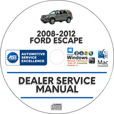 Ford Escape 2008-2012 Factory Service Repair Manual