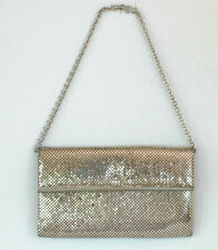 Whiting and Davis Silver Mesh Vintage Purse