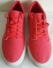 Womens DG Skate Pink Lace Up Shoes/Trainers  Size UK 7 US 9