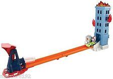 Hot Wheels City Blaze Blaster Track Set Play set W/ Vehicle Gravity Launch New