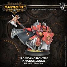 Warmachine: Khador Iron Fang Kovnik Solo PIP 33091