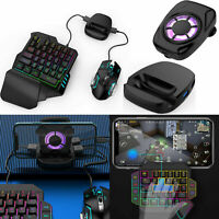 PUBG Mobile Gamepad Controller Keyboard Mouse Converter + Holder for Android IOS