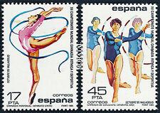 Championnats du monde de gymnastic ryhmique.. Espagne 1985 Neuf**