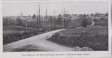 1910  --  SAINT LAURENT DE CERIS   3J737