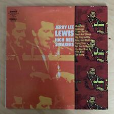 """JERRY LEE LEWIS - High Heel Sneakers 12"""" Vinyl LP *Rockabilly Rock'n'Roll*"""