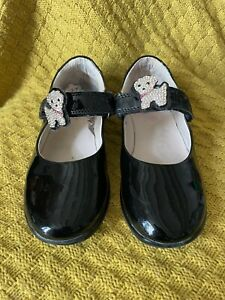 Lelli Kelly 32F (UK 13 1/2) black patent girls shoes
