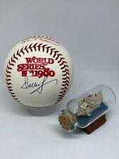 Dallas Green signed Rawlings 1980 World Series Baseball JSA Phillies MGR A734