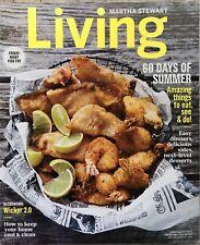 Martha Stewart Living Magazine July/Aug 2017 60 Days of Summer, Friday Fish Fry!