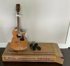 Ibanez Ac35Ce Nt Acoustic-Electric Guitar with Case & 2 cables, Original Owner
