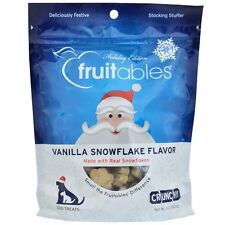 Fruitables Dog Treats Vanilla Snowflake (7 oz) Holiday Edition