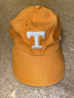 """T Tennessee Logo New Era """"The Vier"""" Fitted Soft Baseball Cap Size Small"""