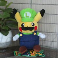 "Super Mario Luigi Cosplay 8"" Stuffed Animal Cartoon Plush Toy Nintendo Game Doll"