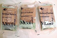 3 MRE's Survival Food Camping Meals Ready To Eat Beef Ravioli, Penne, Cheese Tor