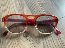 Vintage Plastis Rx Eye Glasses Multicolor