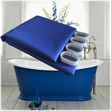 Quality Shower Curtain 2.2mH New Possible Minor Issues Blue Only