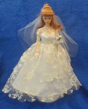 Wedding Day Barbie Francie 1958 Reproduction 1997 Red Pony Tail