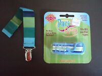 Parent Invented Approved Boogin Head Universal Pacifier Holder Baby PaciGrip