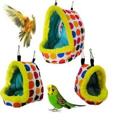 Bird Nest House Winter Warm Hanging Bed Cave for Parakeet Hamster Sleeping Bag