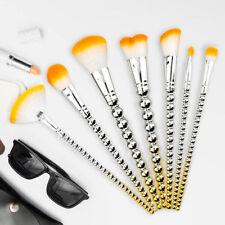 Beauty Makeup Brushes Set Powder Blush Eye Shadow Brush Tool Kabuki 7Pcs