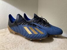 New listing Rare Adidas X 19.1 Mens SG Soft Ground Soccer Cleats Royal/White Mens Size 12