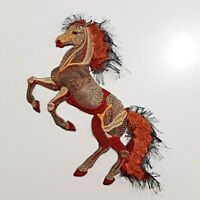 Horse Large Extra Quality Sew-On Embroidered Patch Applique