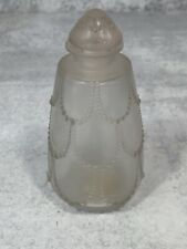 "Rare 1928 Lalique Perfume Bottle Perfum 5.5"" Tall"