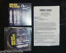 Brian Wilson signed CD Cover No Pier Pressure Beach Boys New w/ Proof