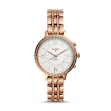 Fossil Hybrid Smartwatch-Jacqueline Rose Gold-Tone Stainless Steel FTW5034