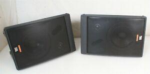 Good, Solid JBL Control 5 Studio Monitor Speakers PAIR Speaker
