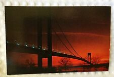 Nester's Map & Guide - New York City - Postcard - Verrazano-Narrows Bridge