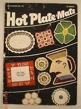 Hot Plate Mats - Star Book 70 - American Thread Company - 14 Crochet Patterns