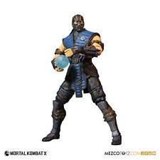 "Mortal Kombat X Sub-Zero 1/6 Scale Mezco 12"" Figure"