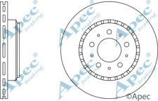 FRONT BRAKE DISCS (PAIR) FOR VOLVO 760 GENUINE APEC DSK917