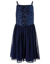 BNWOT Girls Monsoon Navy Party Bridesmaid Dress Size 10 Years