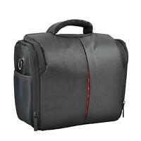 Camera Shoulder Bag Case For Nikon D3400 D3000 D3100 D3200 D3300 etc (Black)