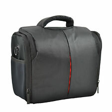 Black Waterproof Camera Shoulder Bag Carry Case DSLR for Nikon Canon