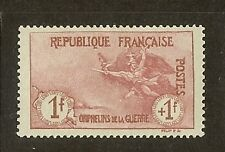 """FRANCE STAMP TIMBRE N° 154 """" ORPHELINS 1F+1F """" NEUF xxTTB, VALEUR:1562€"""