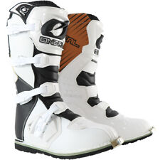 ONEAL RIDER BOOT BLACK/WHITE ADULT SZ 10 MOTOCROSS BOOT BRAND