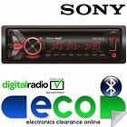 SONY MEX 55x4 Watts DAB+ Radio Bluetooth CD MP3 USB AUX Car Stereo Player REFURB