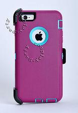 Defender Rugged iPhone 6 / iPhone 6s Hard Case *Belt Clip Fits Otterbox Defender